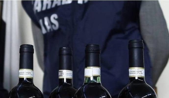 Fake wines sold under expensive Italian labels off the market