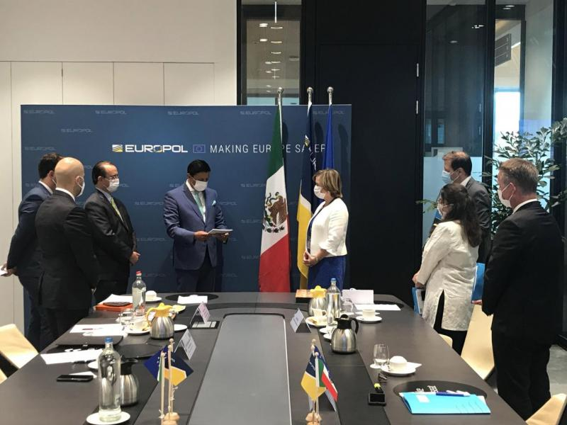 Mexico and Europol sign working arrangement on security matters